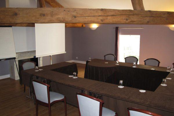 Location salle réunion originale, salle atypique Château Lyon 69