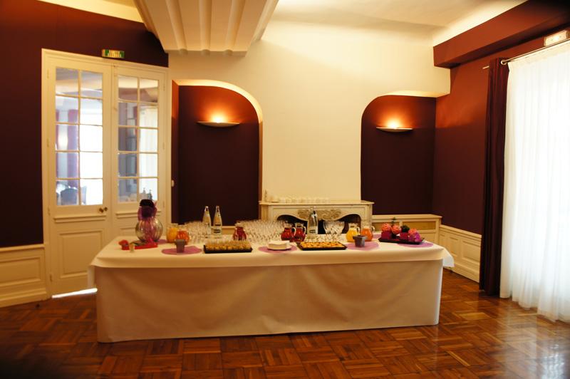 Restauration lors de réunion et réception au Chateau de Montchat