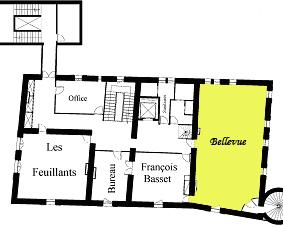 Plan Salle Bellevue