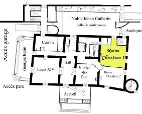 Plan Reine Christine 1