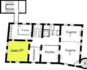 Plan Salle Louis XV