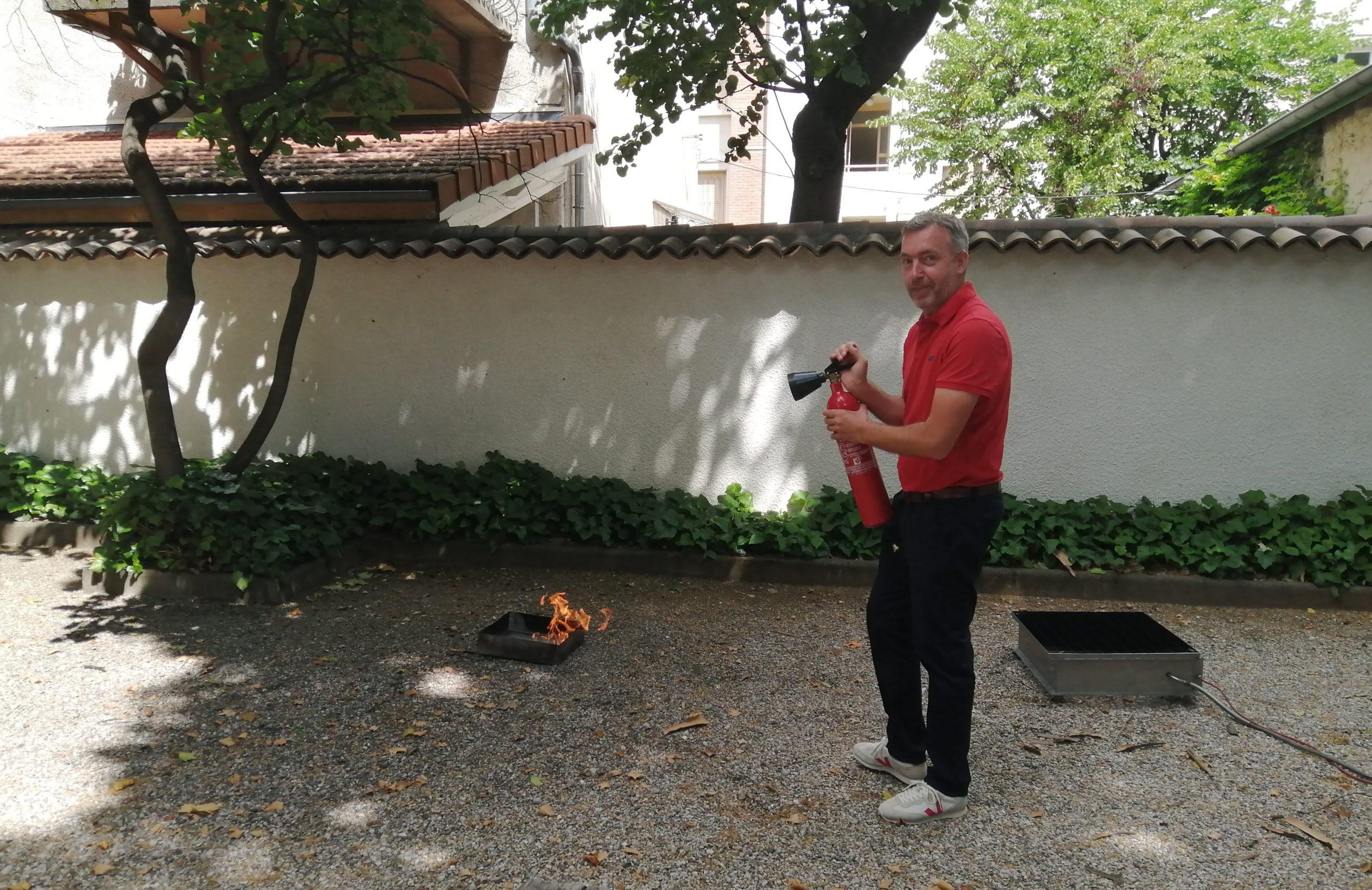 Formation sécurité incendie et prévention